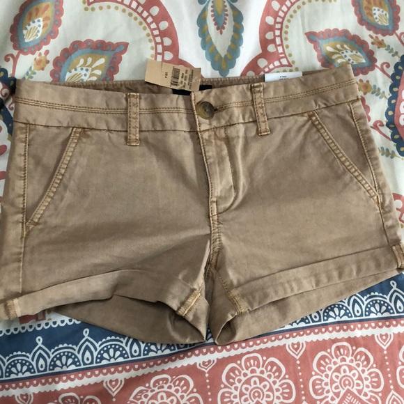 American Eagle Khaki Shorts